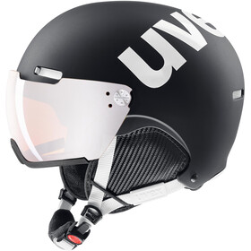 UVEX hlmt 500 Visor Casque, black-white mat